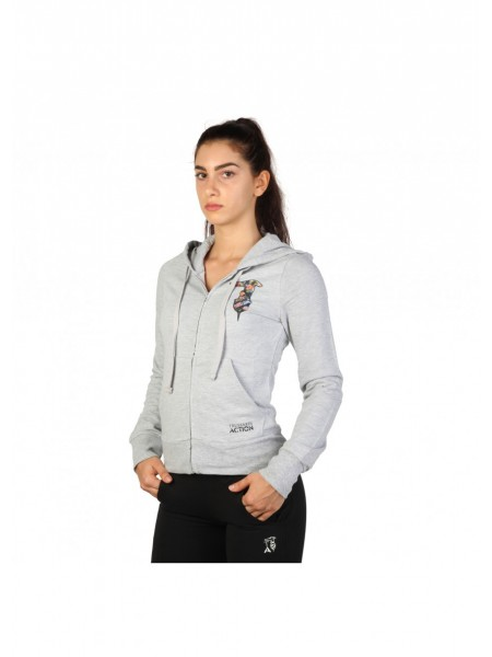 Donde comprar último descuento incomparable Chaqueta chandal mujer. Gris claro . Trussardi