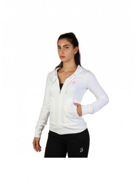 Compra chaqueta chandal de mujer. Color blanco a precios muy ... 3550fa34204b