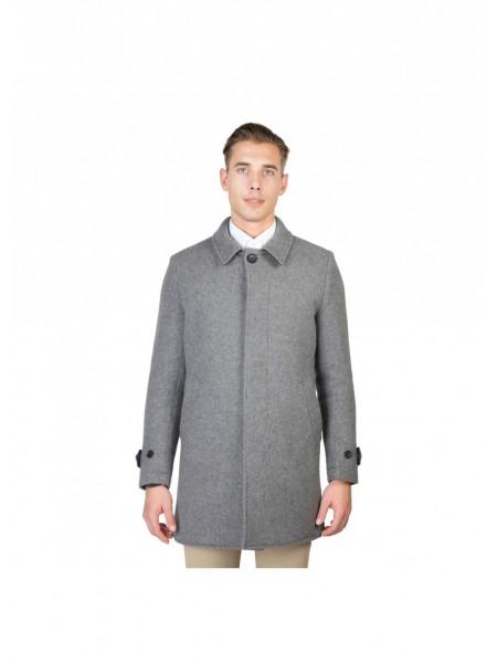 Abrigo gris hombre
