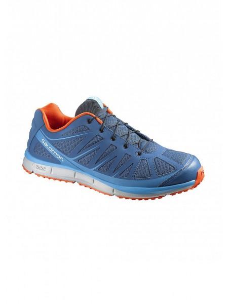Zapatillas deportivas Salomon, azul claro,hombre.
