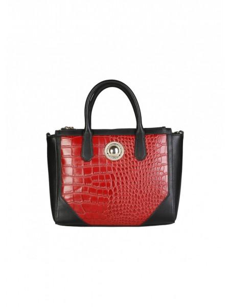ff76e0df881 Comprar ahora bolso rojo y negro de Versasce Jeans. Outlet