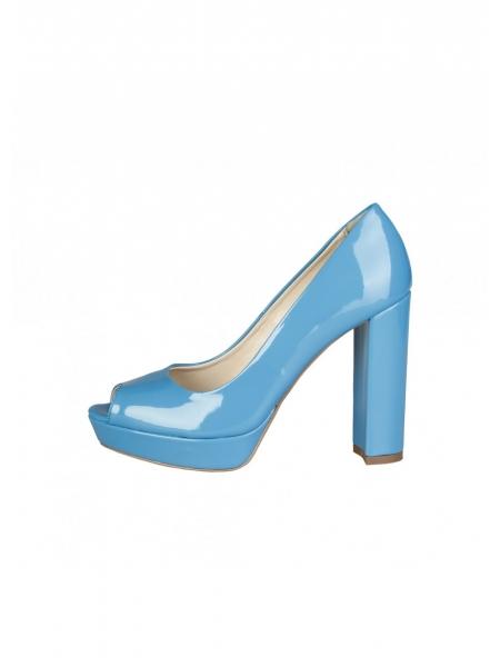 34b439a9fc7 Comprar zapato de tacón azul cielo modelo Mia de Ana Lublin. Precios ...