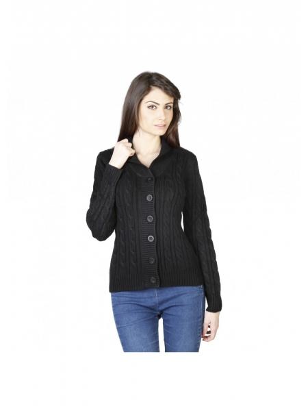 mejor último diseño selección premium Comprar chaqueta negra con cuello de chal de Von Furstenbeg a precios de  liquidación. Outlet